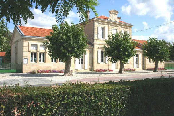 photo de l`école de Civrac en Médoc