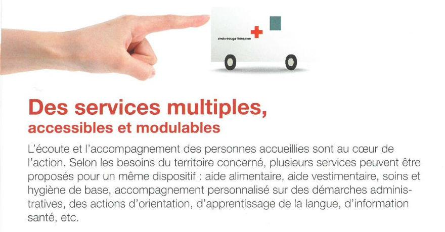 services croix rouge